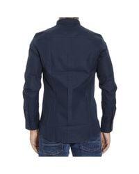 Iceberg | Blue Shirt for Men | Lyst