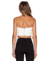 C/meo Collective - White X Revolve No Advice Bustier - Lyst