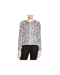 Generation Love - Black Leopard Print Sweater - 100% Bloomingdale's Exclusive - Lyst