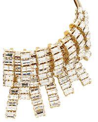Giuseppe Zanotti - Metallic Crystal Embellished Necklace - Lyst