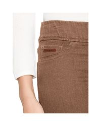 Ralph Lauren - Brown Stretch Corduroy Skinny Pant - Lyst
