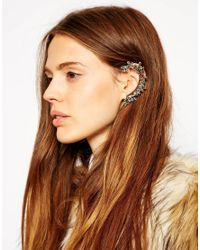 ASOS | Metallic Leaf Vine Ear Cuff | Lyst