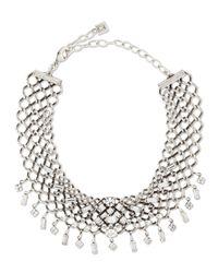 DANNIJO - Metallic Marianna Jet Choker Necklace - Lyst