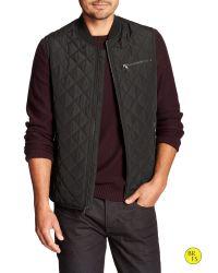 Banana Republic | Black Factory Vest Jacket for Men | Lyst