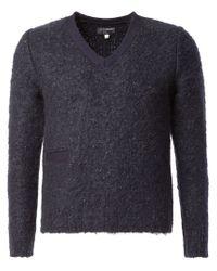 Blue Blue Japan - Blue Pocket Sweater for Men - Lyst