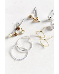 Urban Outfitters   Metallic Captured Charms Earring Set   Lyst