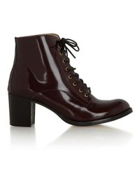 Hobbs - Purple Nw3 Trudie Ankle Boot - Lyst