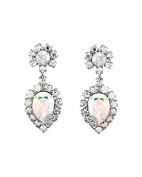 DANNIJO   Metallic Mirabella Clip Earrings   Lyst