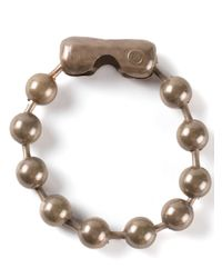 MM6 by Maison Martin Margiela - Metallic Beaded Bracelet - Lyst