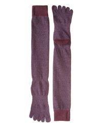 ToeSox - Purple Casual Full Toe Knee High - Lyst