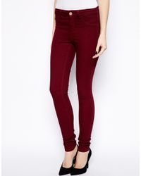 Oasis - Coloured Jade Full Leg Trousers - Lyst