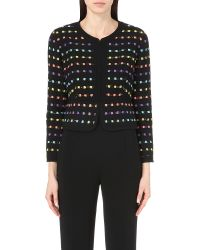 Diane von Furstenberg - Black Alberta Tweed Jacket - Lyst
