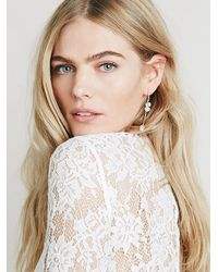Free People | Metallic Maniamania Womens Prisma Earrings | Lyst