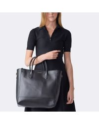Pink Pony | Black Calfskin Tote | Lyst