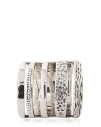 Pamela Love | Metallic Single Cage Ring | Lyst