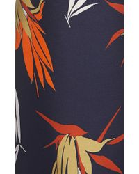 Marni - Multicolor Birds Of Paradise Print Shift Dress - Lyst