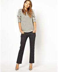 M.i.h Jeans - Gray The Brighton Jean in Grey Flannel - Lyst