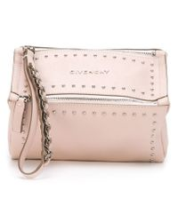 Givenchy - Natural 'pandora' Clutch - Lyst