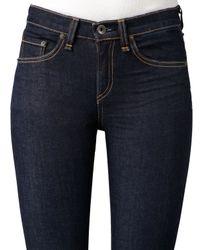Rag & Bone - Black The High-Rise Skinny Heritage Jeans - Lyst