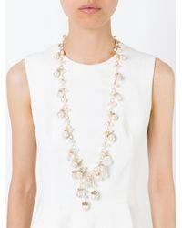 Rosantica   White 'pinoli' Necklace   Lyst