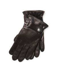 Polo Ralph Lauren - Brown Quilted Racing Gloves for Men - Lyst