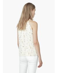 Mango | White Halter Neck Top | Lyst