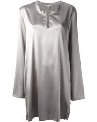 Ann Demeulemeester - Metallic Loose Fit Dress - Lyst