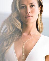 Lana Jewelry - Metallic 14k Gold Elite Fringe Duster Earrings - Lyst