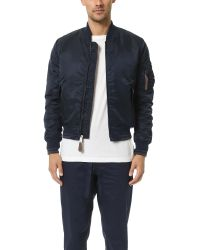 Ben Sherman | Blue Bomber Jacket for Men | Lyst