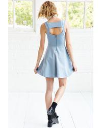 Kimchi Blue - Blue Camrin Fit + Flare Dress - Lyst