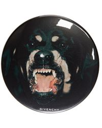 Givenchy - Black Rottweiler Print Badges - Lyst
