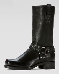 Frye | Black Mens Harness 12r Chain Boot for Men | Lyst