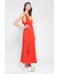 Reformation   Red Citrine Maxi Dress   Lyst