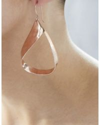 Robert Lee Morris - Pink Ribbon Drop Earrings - Lyst
