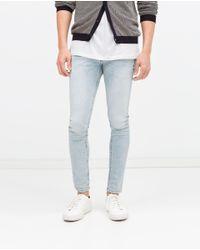 Zara | Blue Skinny Jeans for Men | Lyst