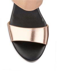 Charles by Charles David | Pink Megan Platform Wedge Sandals | Lyst
