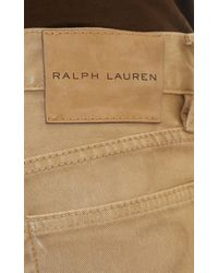 Ralph Lauren Black Label - Natural Piston Moto Crusader Jeans for Men - Lyst