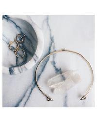 Bing Bang | Metallic Double Trident Collar | Lyst