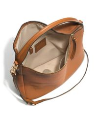 COACH - Natural Bleecker Sullivan Hobo In Pebbled Leather - Lyst