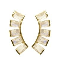 Katie Diamond Jewelry | Metallic Belinda Ear Climbers | Lyst