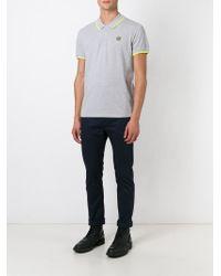 KENZO   Gray 'tiger' Polo Shirt for Men   Lyst