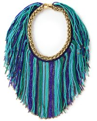 Bex Rox - Blue Short 'Massai' Necklace - Lyst