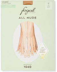 Fogal - Natural All Nude 10 Denier Tights - Lyst