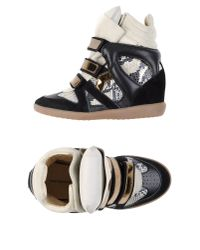 Isabel Marant - Black High-Tops & Trainers - Lyst