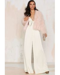 Nasty Gal | Pink J.o.aUnder The Feather Jacket | Lyst