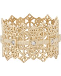 Grace Lee | Metallic Gold Lace Crown Ring | Lyst