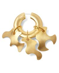 Tibi - Metallic Paige Novick For Single Sculpture Earring - Lyst