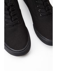 Forever 21 | Black Classic Canvas Sneakers You've Been Added To The Waitlist for Men | Lyst