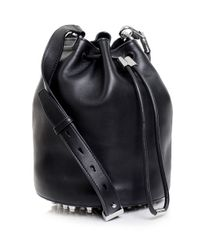 Alexander Wang - Black Alpha Soft Bucket Bag - Lyst