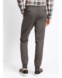 VINCE | Gray Luxe Blend City Jogger for Men | Lyst